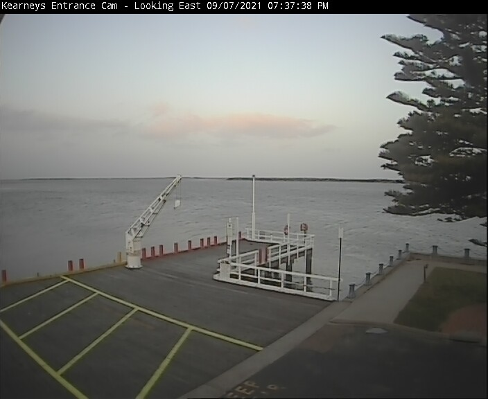 Port Albert webcam - The Wildfish Seafood Restaurant kearneys webcam, Victoria, Gippsland